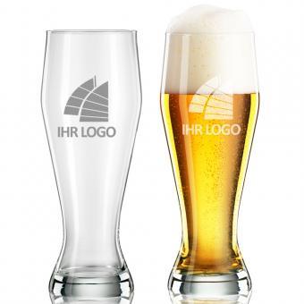 Weizenbierglas mit Logo 0,5l