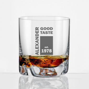 Whiskybecher mit Gravur