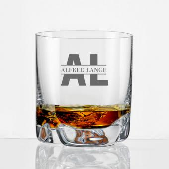Whiskybecher mit beeindruckender Gravur