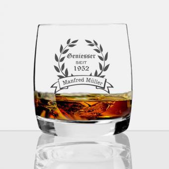 personalisiertes Whisky Glas Geniesser