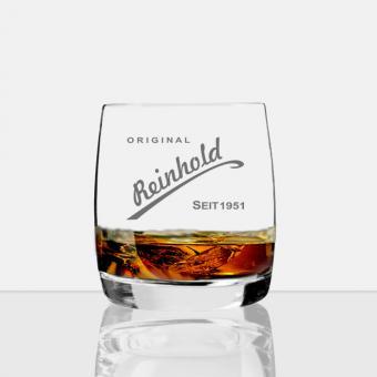 personalisiertes Whisky Glas Reinhold
