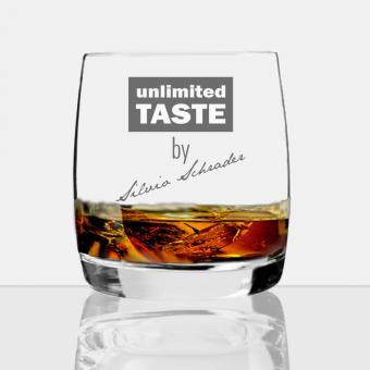 Whisky Glas mit eigener Gravur