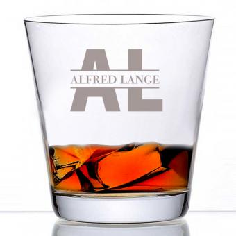 Whiskyglas mit individueller Gravur