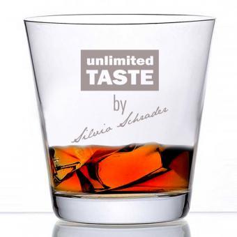 Whiskyglas individuell gravieren
