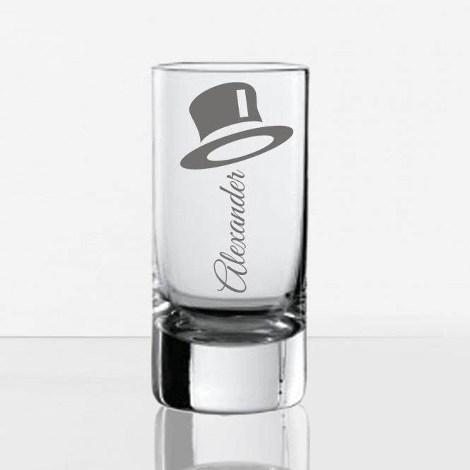schnapsglas mit wunsch gravur gentlemen geschenkplanet. Black Bedroom Furniture Sets. Home Design Ideas