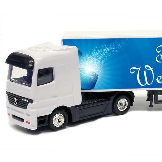 spielzeug lkw truck mit namen bedrucken geschenkplanet. Black Bedroom Furniture Sets. Home Design Ideas